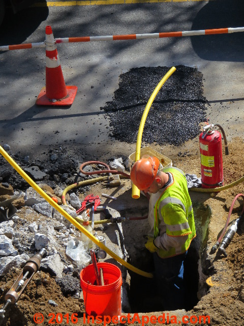 Gas pipe leaks How to Identify  Correct LP Gas or