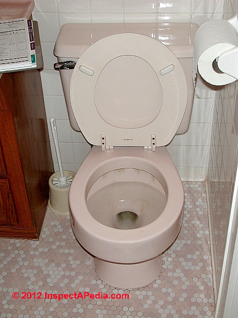 What happened when I was told to seal the toilet with