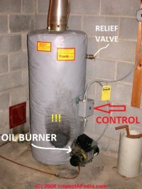 How to Find the Age of a Hot Water Heater, Heating Furnace ...