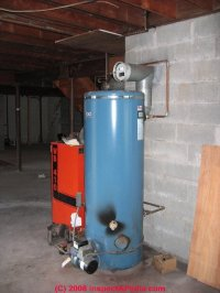 Guide to oil fired hot water heaters, inspection ...