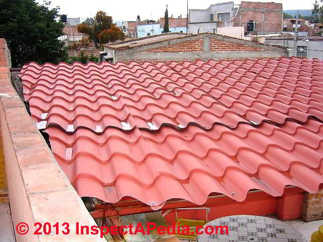metal alternatives to clay tile roofs