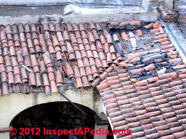 clay tile roof identification