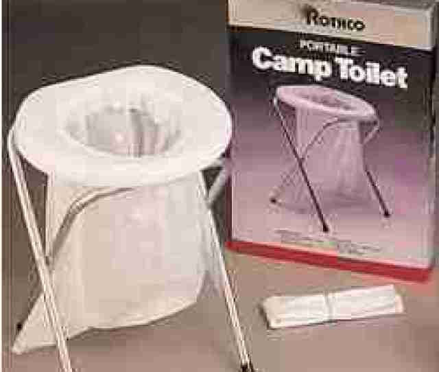 Camping Toilets Portable No Flush Toilet Systems For Camping Or Emergency Use At Home