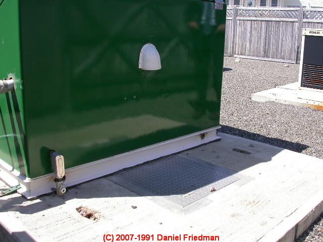 Switch And A Pump Control Box Accessible Fdrom The Manhole Cover