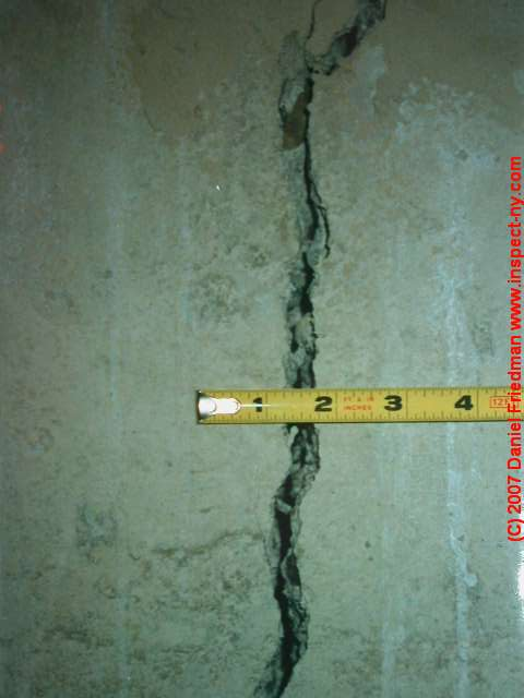 Foundation Wall  Floor Crack Dictionary How to Evaluate