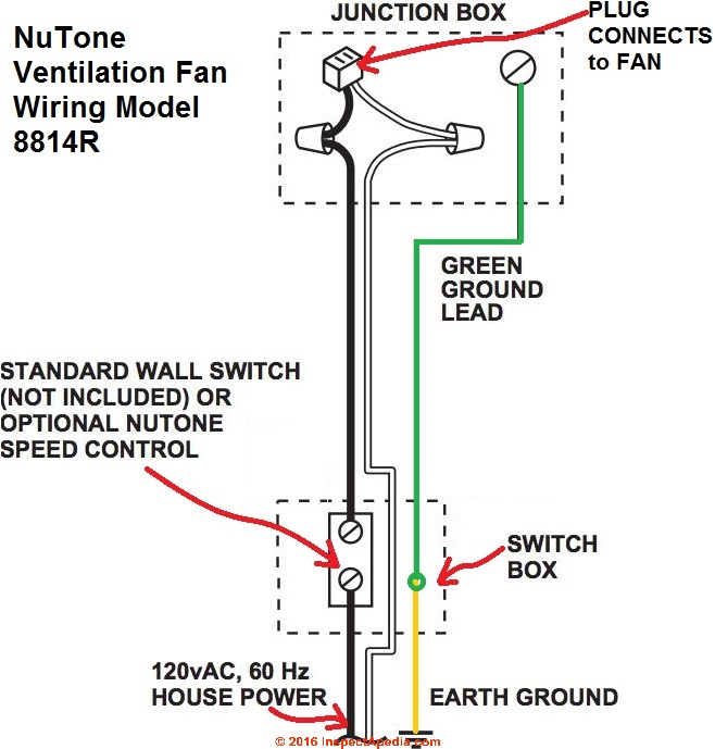 Selv Bathroom Fan Wiring Diagram : Bathroom ventilation fan wiring diagram how to install a
