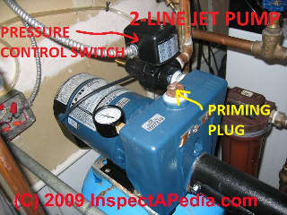 goulds jet pump diagram 1970 chevelle radio wiring water pressure problems: how to diagnose and fix bad or low pressure, poor ...