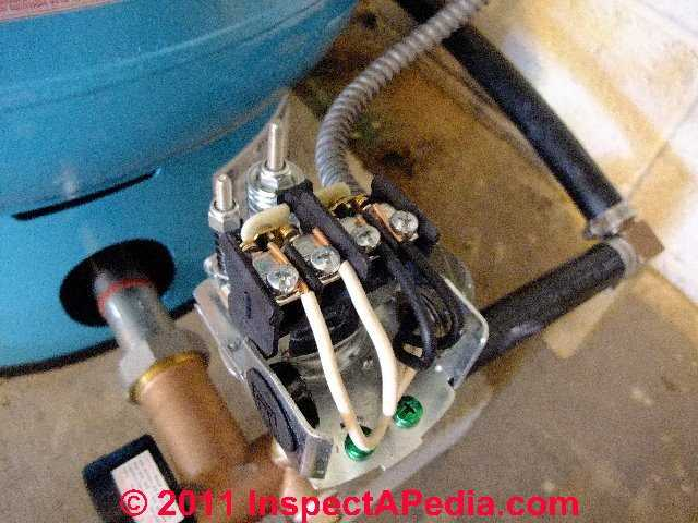 how to adjust water pump pressure pump cuton pressure and