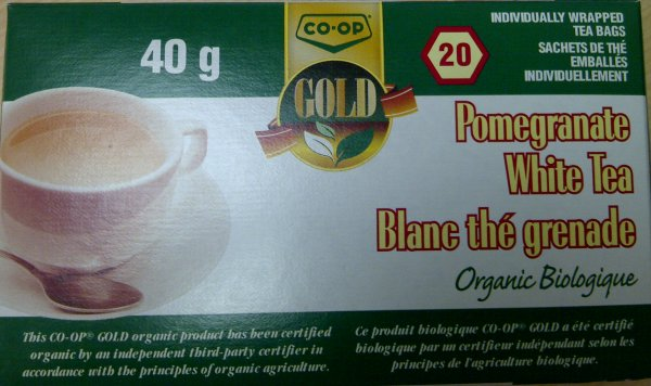 Co-op Gold- Organic Pomegranate White Tea