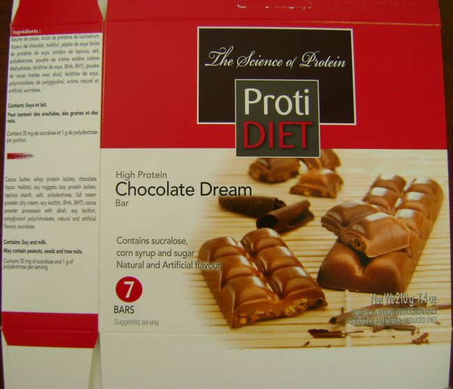 Proti Diet - High Protein Chocolate Dream Bar