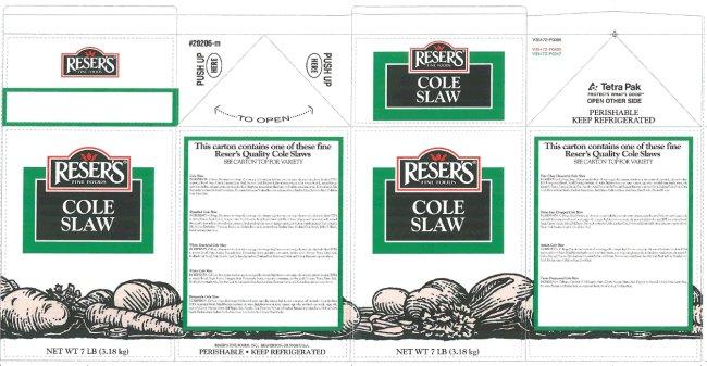 Reser's Fine Foods - Cole Slaw (bulk)