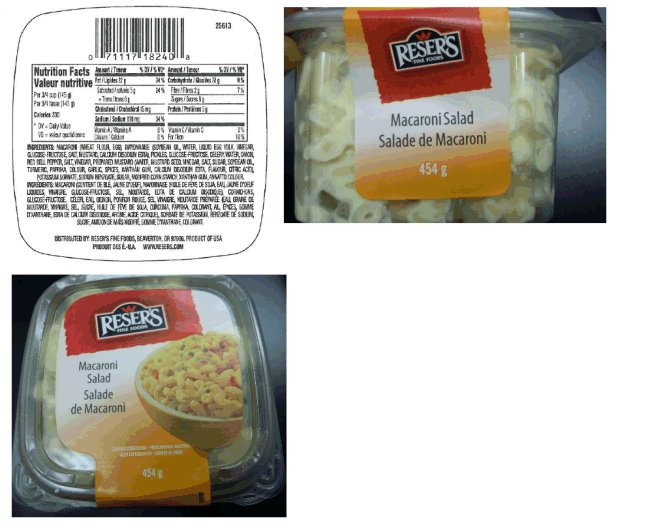 Reser's Fine Foods - Macaroni Salad - 454 gram