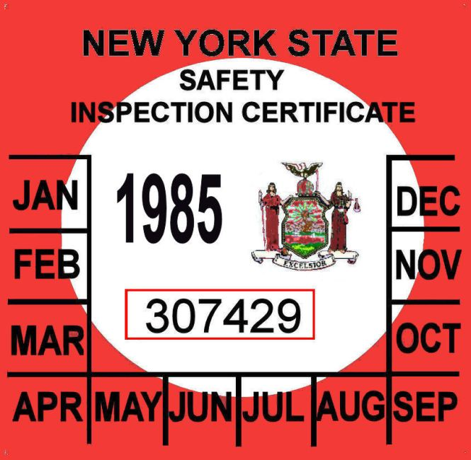 Nys Motor Vehicle Inspection Impremedia