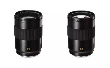 APO Summicron-SL 75mm f/2 and 90mm f/2 ASPH
