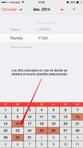 añadir eventos calendario pocketlife