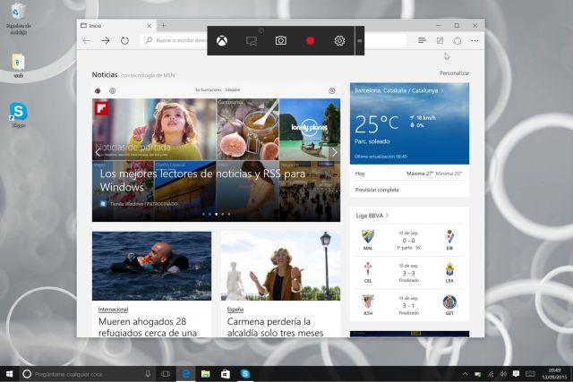 Windows 10_grabador escritorio