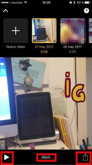 Compartir vídeo Clips