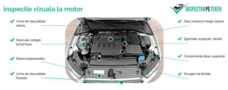 inspectie la motor