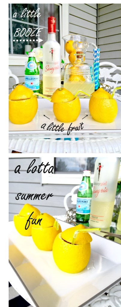 Booze plus Fruit equals Summer Fun