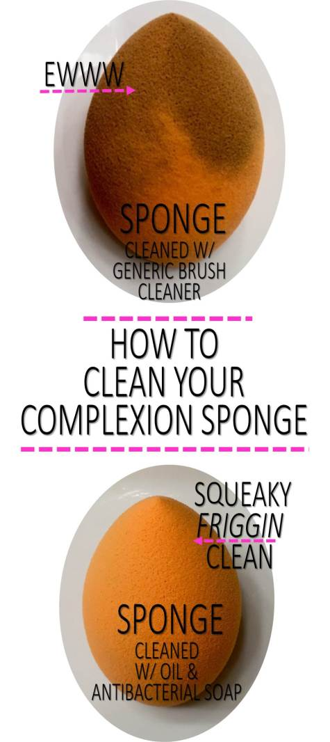 Squeaky Clean Sponge Routine