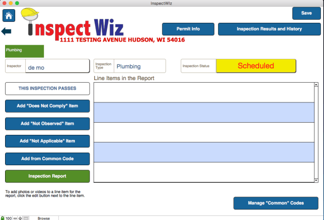 inspectwiz building inspection software