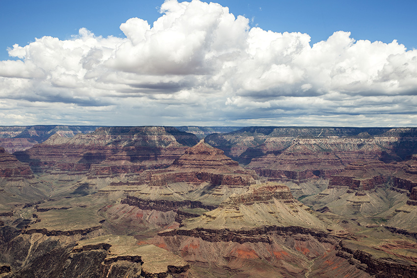 Uitzicht bij Grand Canyon South