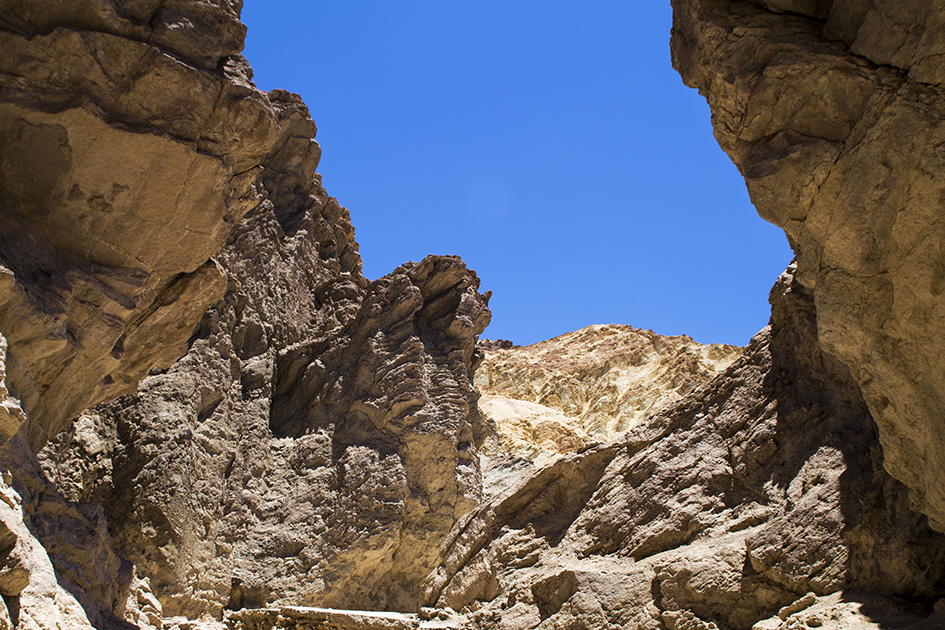 Golden Canyon Trail in Death Valley