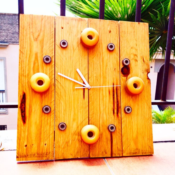 relógios alternativos feitos com materiais reaproveitados