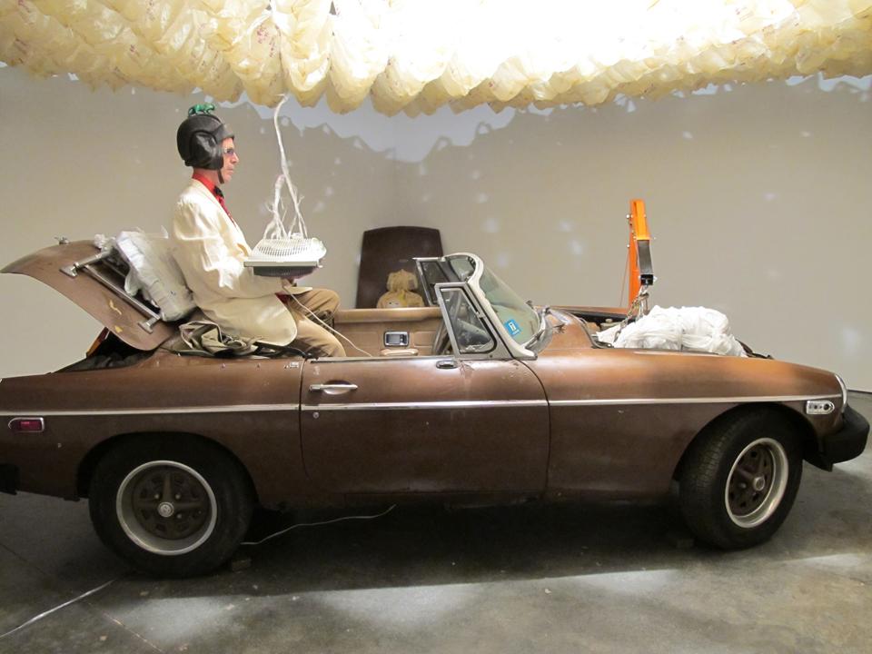 "Deep Bones Opening Ceremony, ""O Breaker of Bones,"" 2011, Freight + Volume Gallery, NYC. Photo: Adam Ryder."