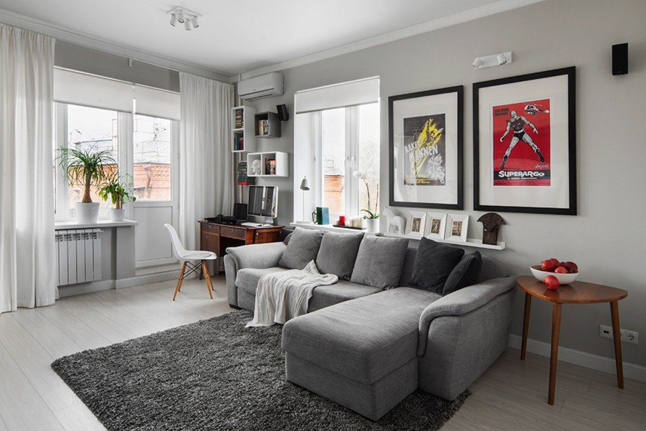 gray wall color inspiration