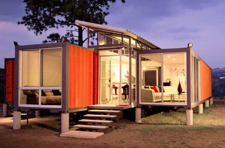 luxury container homes