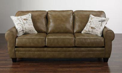 leather sofa modern brown sofa ideas