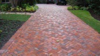 Brick For Terrace Entrance