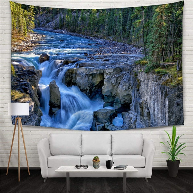 Natural Wall Art Front Wall Area Modern Minimalist