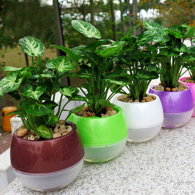 Round Shape Pots Garden And Terrace