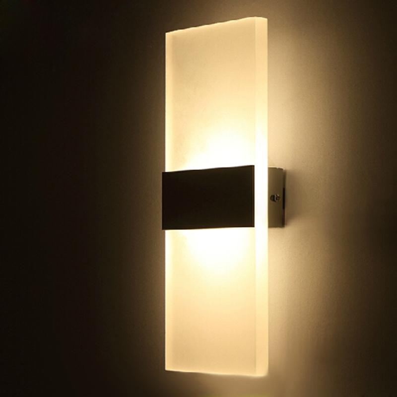 accrylic square simple lamp design