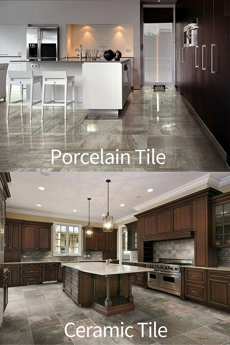 ceramic tile vs porcelain