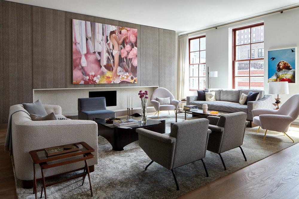 bedroom interior design for sofa long