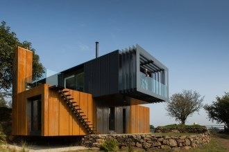 irish container house minimalist