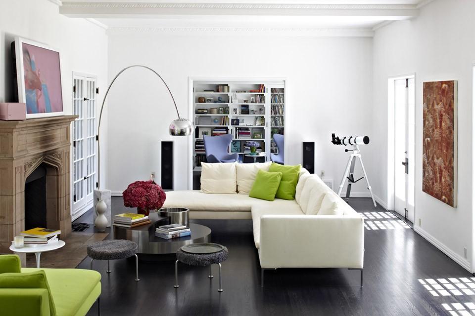 living room standing lamp modern