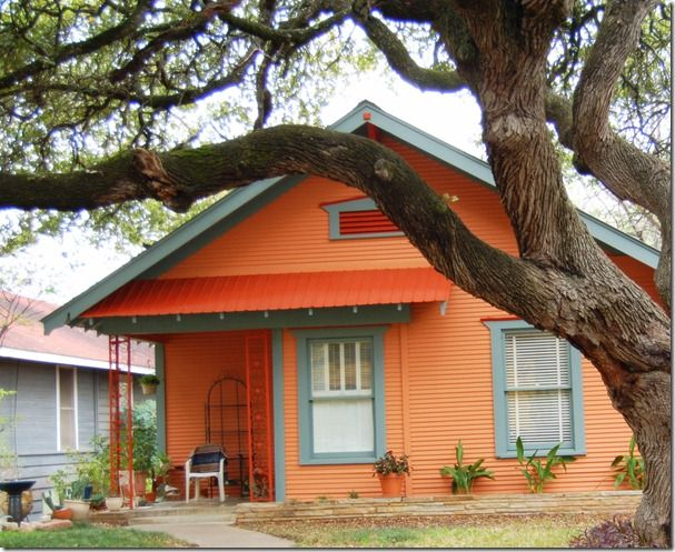 orange house color