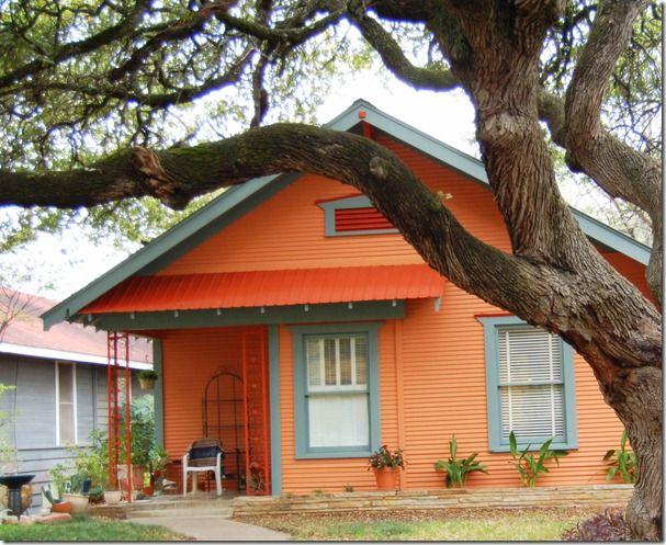 orange house color