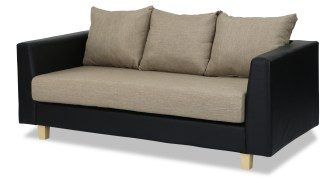 sofa cover with pillow