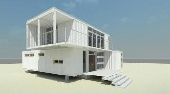 white container house