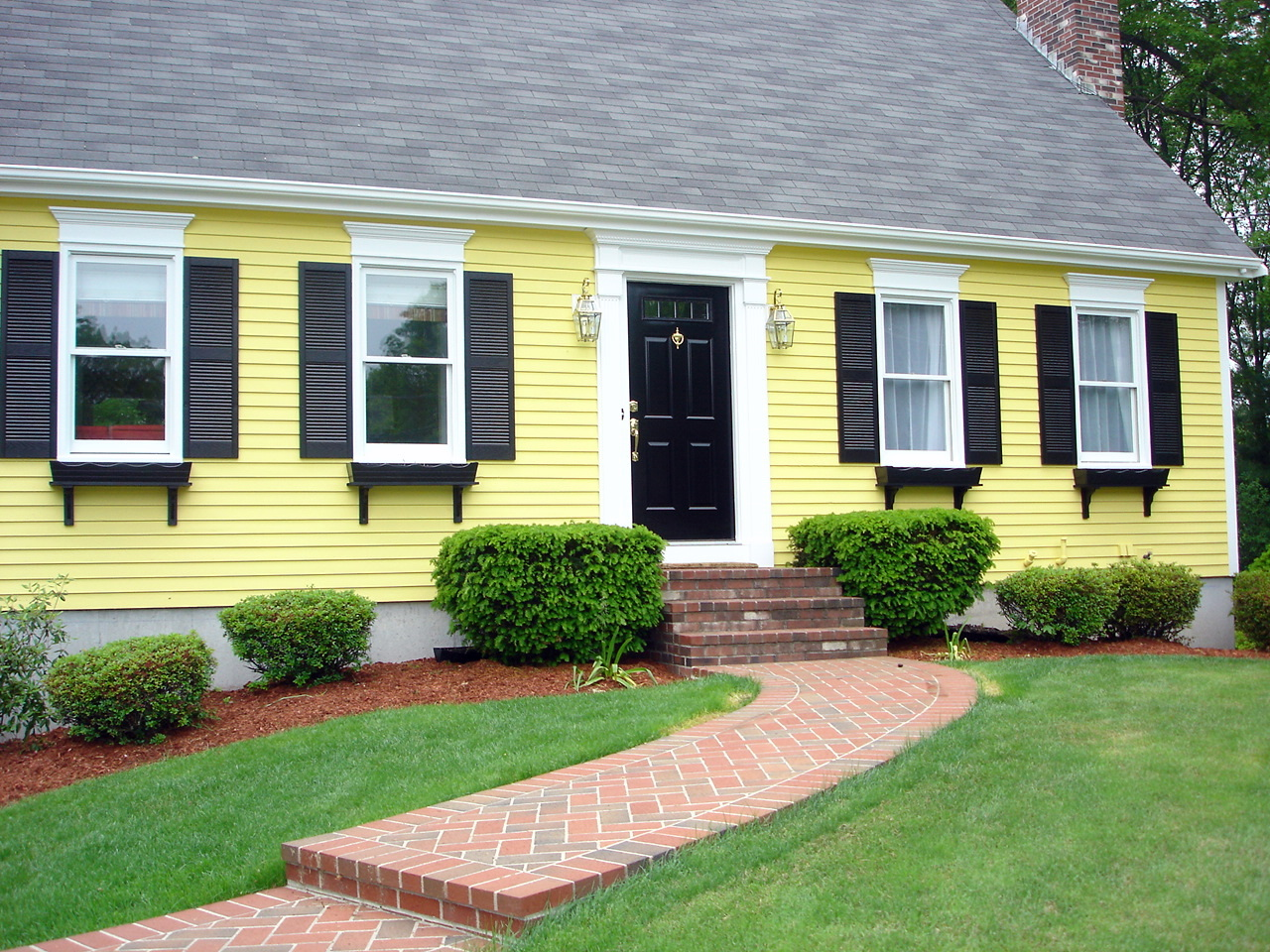 yellow house color