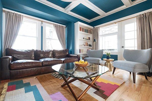 Drawing Upward Living Room