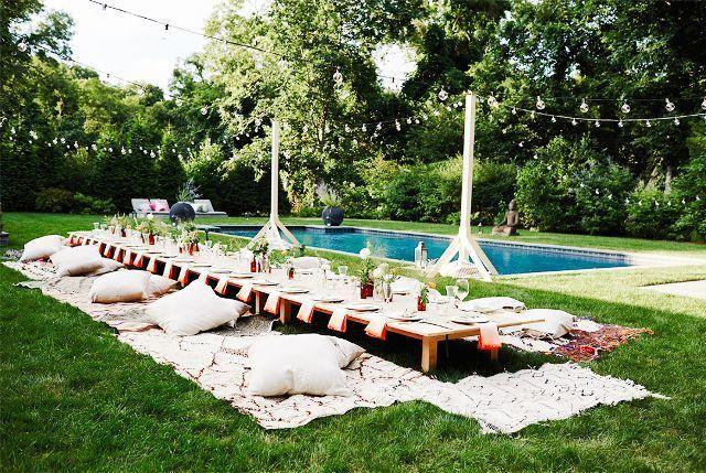 backyard outdoor party ideas