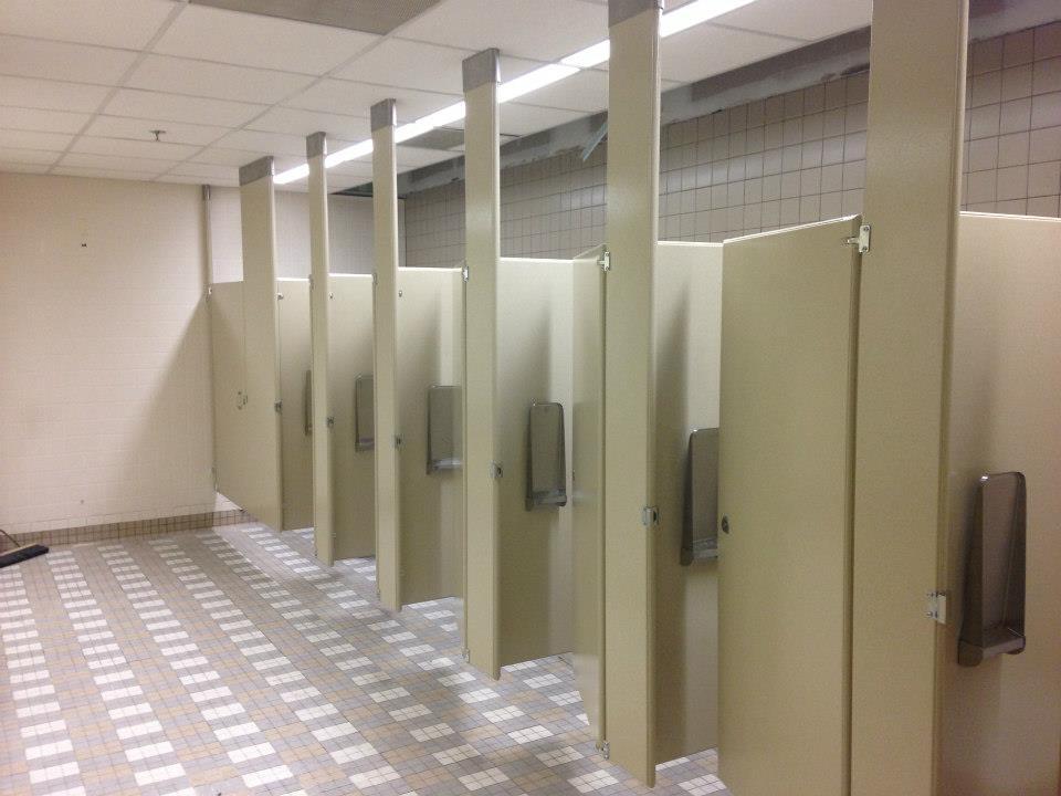 bathroom partitions