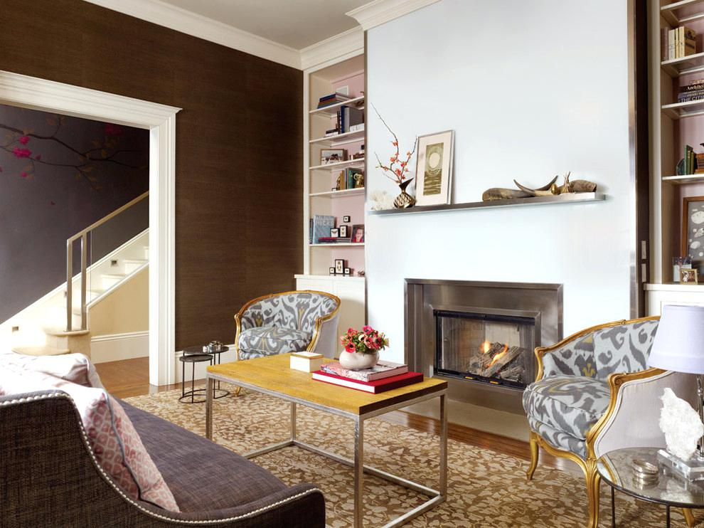 fireplace shelf ideas