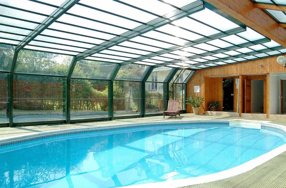 indoor pool house